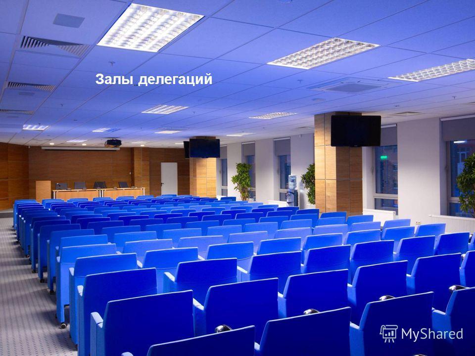 Залы делегаций