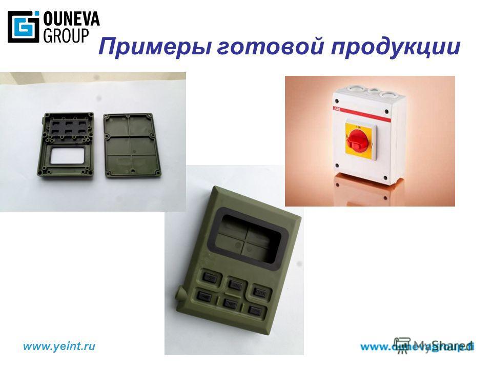 www.yeint.ru Примеры готовой продукции