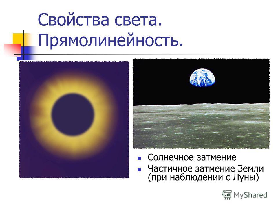 Солнечное затмение Частичное затмение Земли (при наблюдении с Луны)