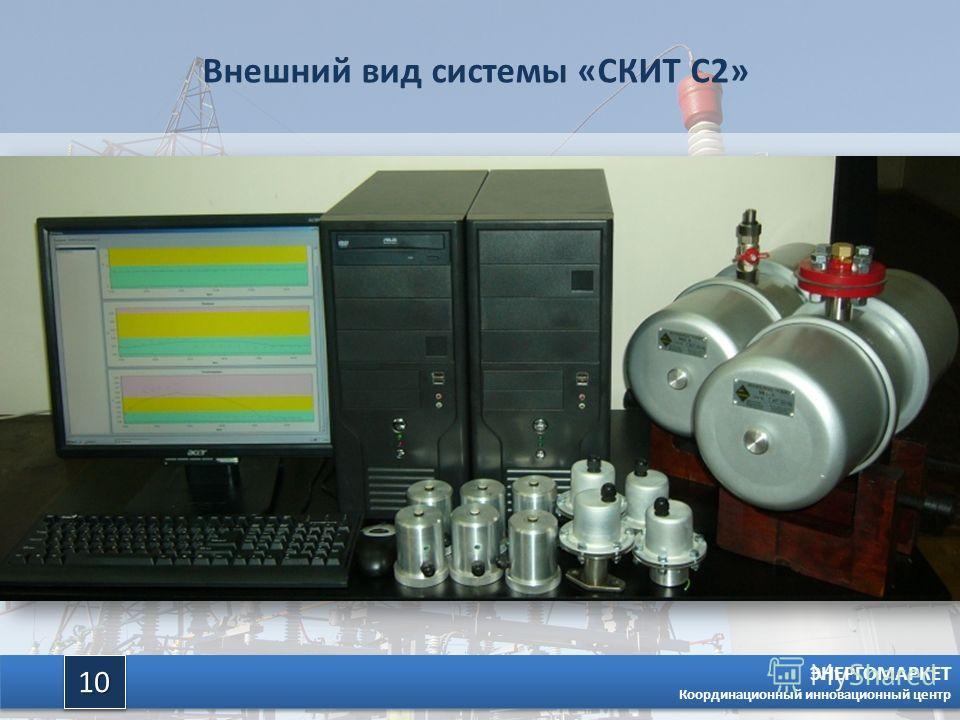 ЭНЕРГОМАРКЕТ Координационный инновационный центр 1010 Внешний вид системы «СКИТ С2»