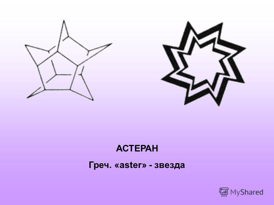 АСТЕРАН Греч. «aster» - звезда