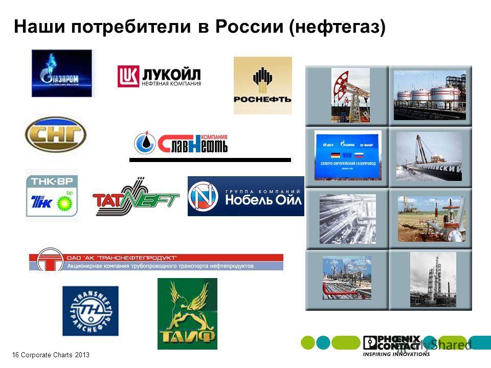 Masterversion 13 16 Corporate Charts 2013 Наши потребители в России (нефтегаз)