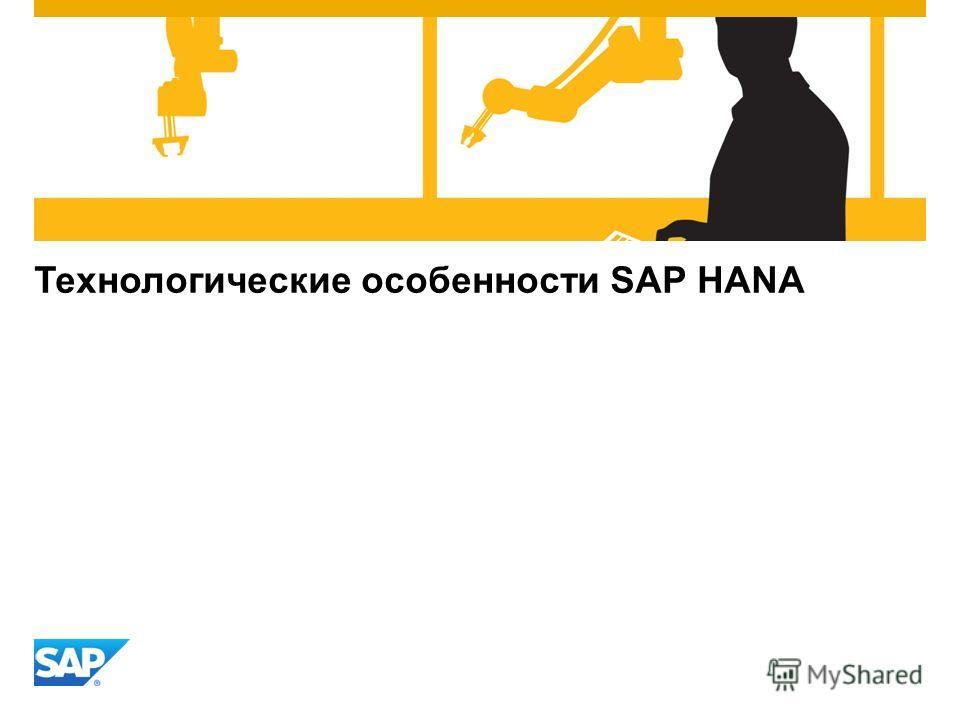 Технологические особенности SAP HANA
