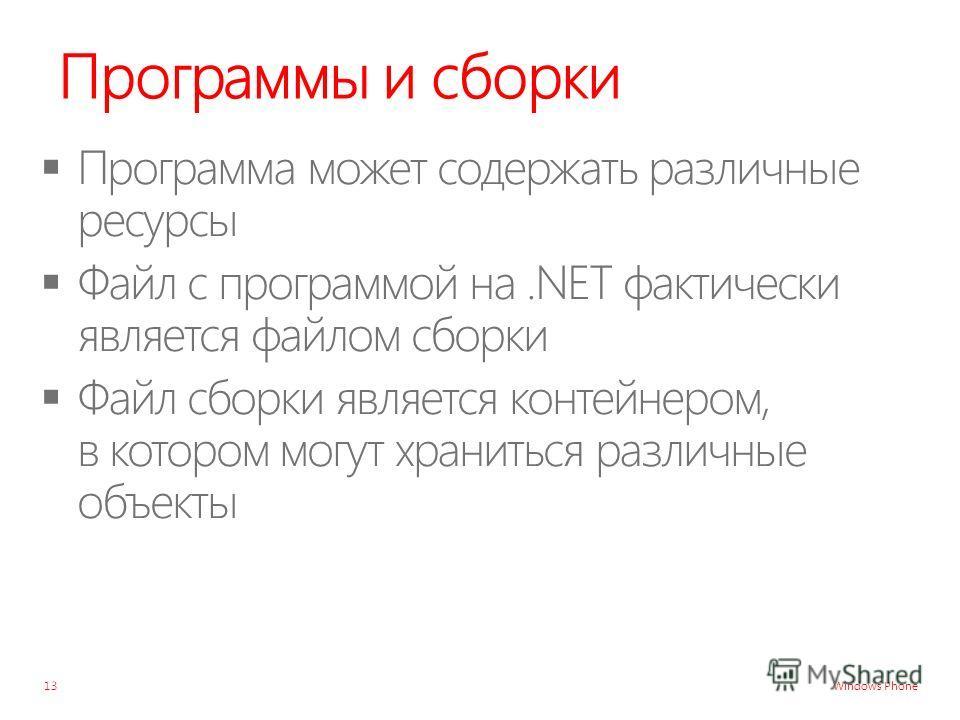 Windows Phone Программы и сборки 13
