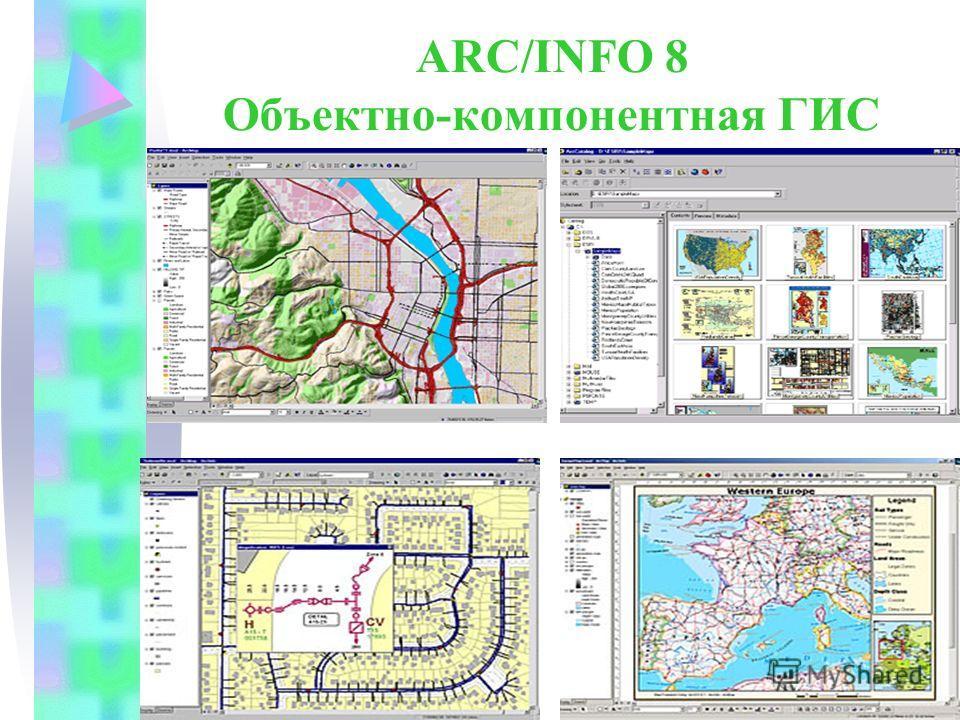 ARC/INFO 8 Объектно-компонентная ГИС
