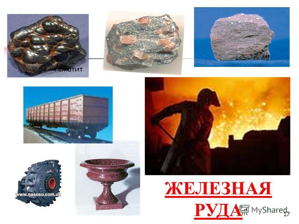 ЖЕЛЕЗНАЯ РУДА гематит 17