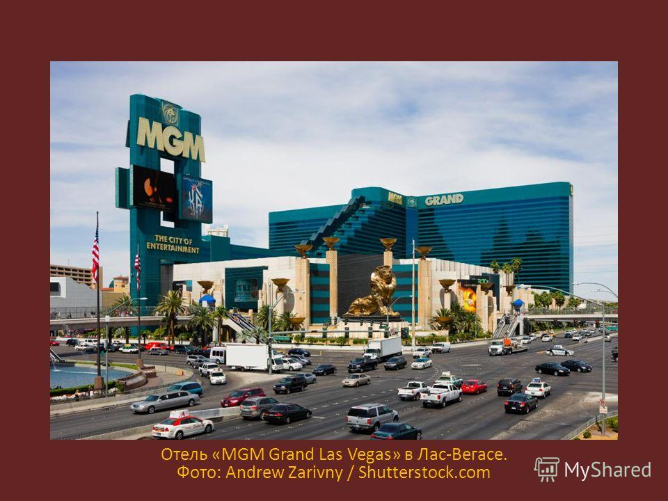 Отель «MGM Grand Las Vegas» в Лас-Вегасе. Фото: Andrew Zarivny / Shutterstock.com