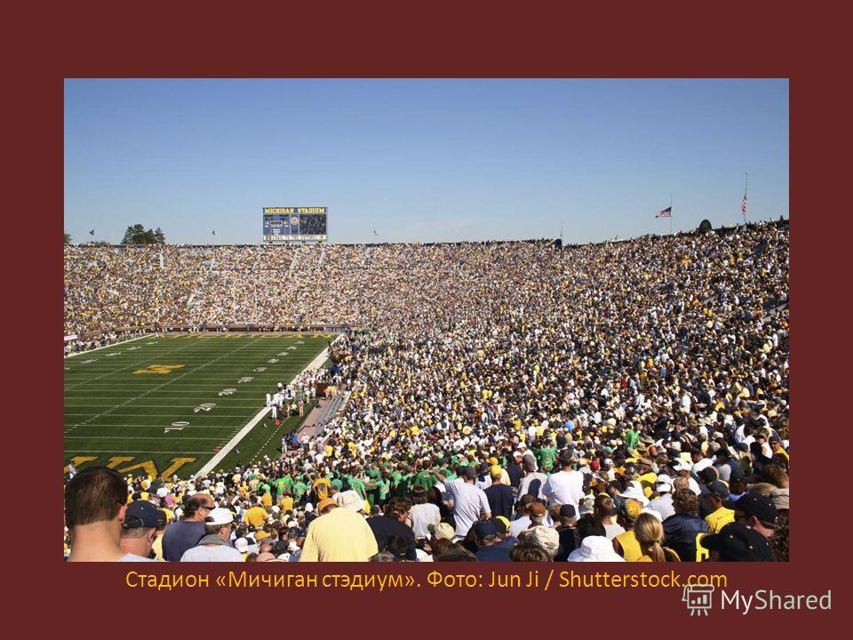 Стадион «Мичиган стэдиум». Фото: Jun Ji / Shutterstock.com