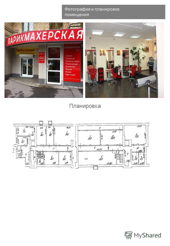 Фотография и планировка помещения Планировка