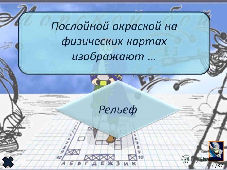 Рельеф Рельеф 27 /87