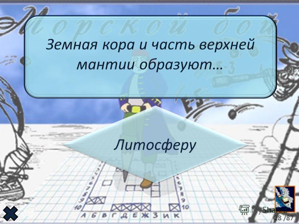 Литосферу Литосферу 28 /87