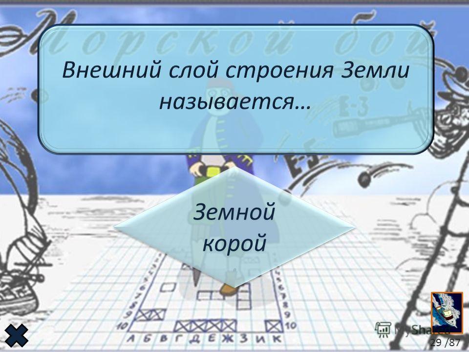 Земной корой Земной корой 29 /87