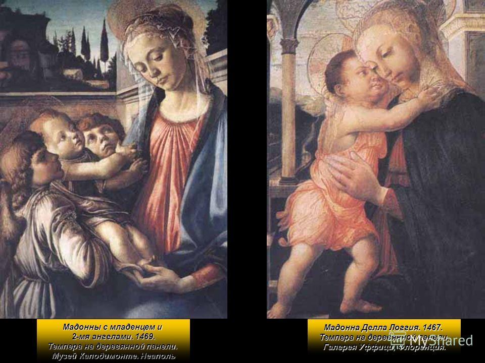 Галерея Нафтали Штеймана Сандро Боттичелли (1444/45 - 1510) Мадонны с младенцем и ангелом. Галерея Воспитательного дома. Флоренция