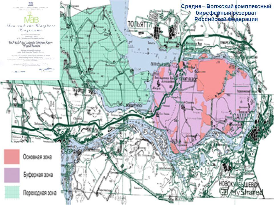 Средне – Волжский комплексный биосферный резерват Российской Федерации