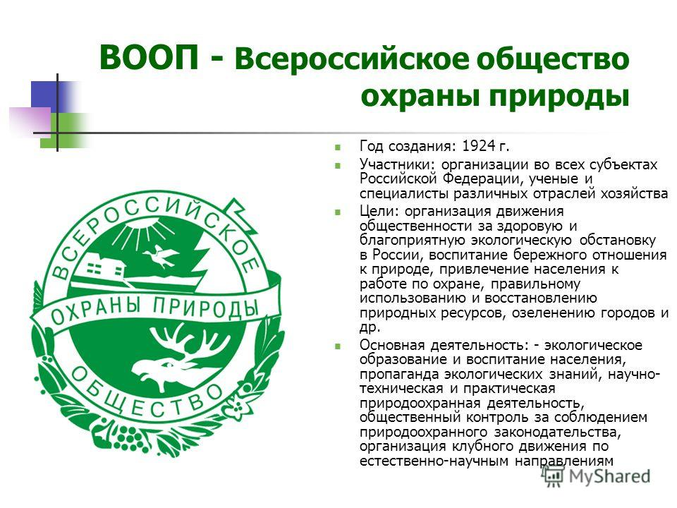 Третьего всероссийского съезда по охране природы