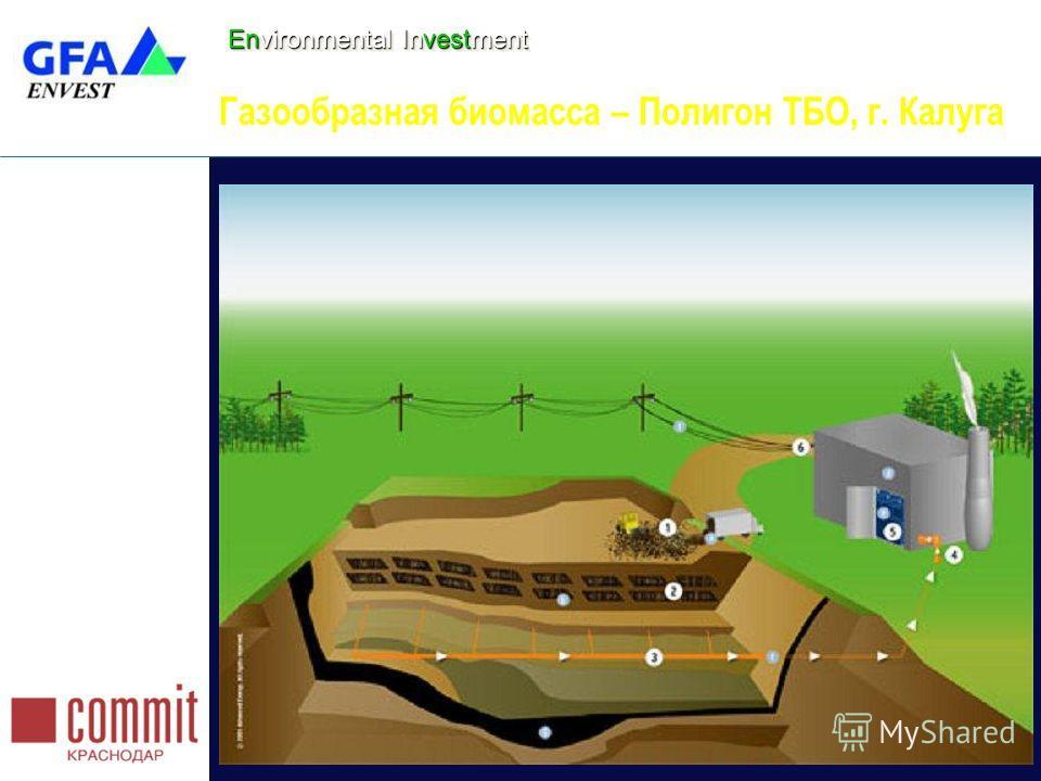 Environmental Investment Газообразная биомасса – Полигон ТБО, г. Калуга