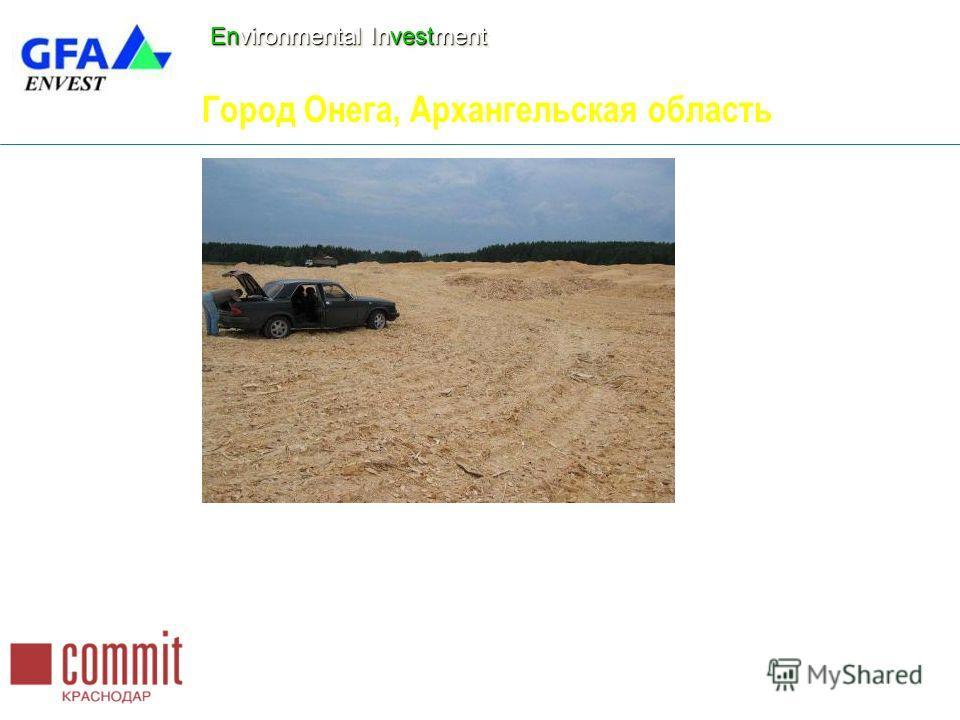 Environmental Investment Город Онега, Архангельская область