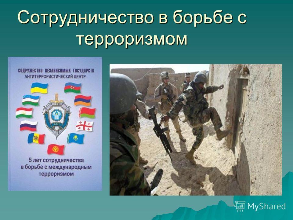 Сотрудничество в борьбе с терроризмом
