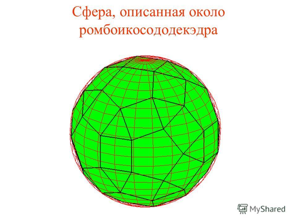 Сфера, описанная около ромбоикосододекэдра