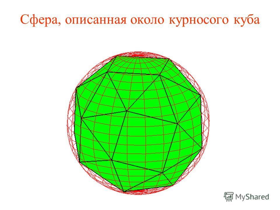 Сфера, описанная около курносого куба