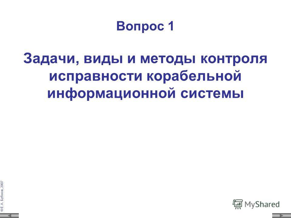 © Е.А. Бубнов, 2007 Метод накопления Комбинация, сформированная источником информации (передаваемая) 1 0 0 1 1 0 1 Первая принятая комбинация1 1 0 1 1 0 1 Вторая принятая комбинация1 0 1 1 1 1 1 Третья принятая комбинация1 1 1 1 1 1 1 Комбинация на в