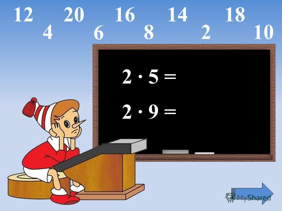 2 · 5 = 2 · 9 = 6 42810 1214161820