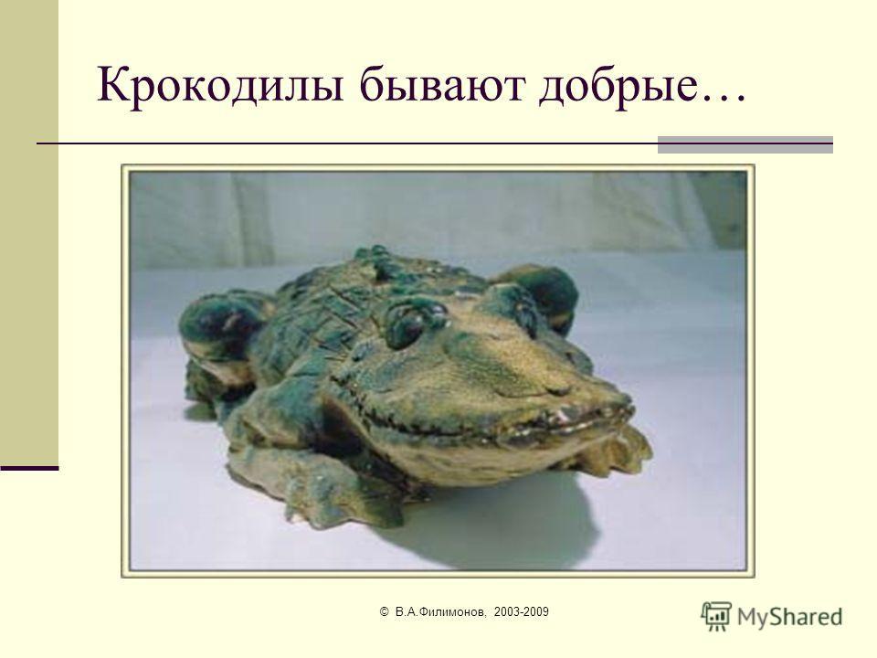 © В.А.Филимонов, 2003-2009 В реке Лимпопо водятся крокодилы