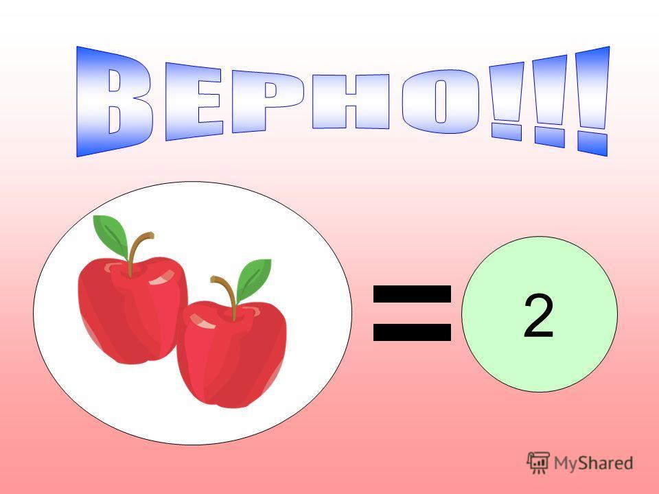Сколько яблок лежит на тарелке? 2 5 963