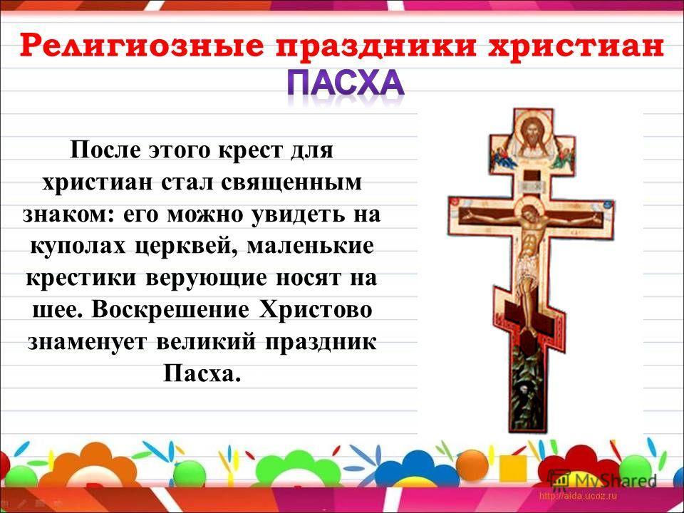 Доклад про религиозные праздники 9973