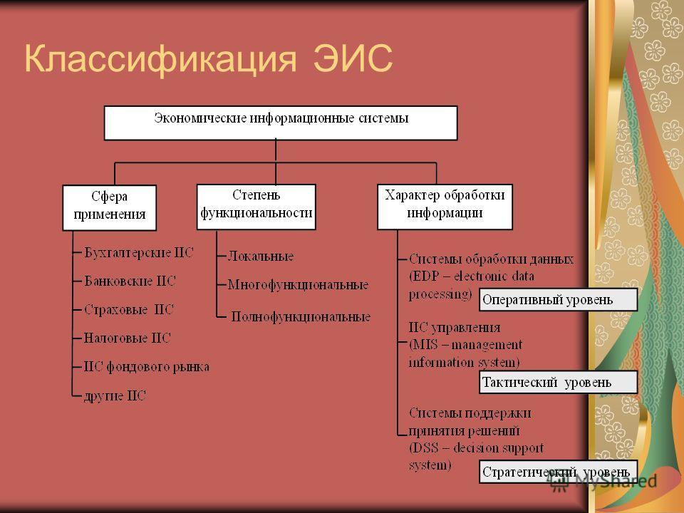 Классификация ЭИС