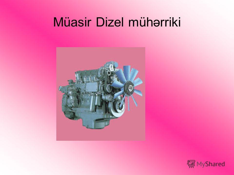 Müasir Dizel mühərriki
