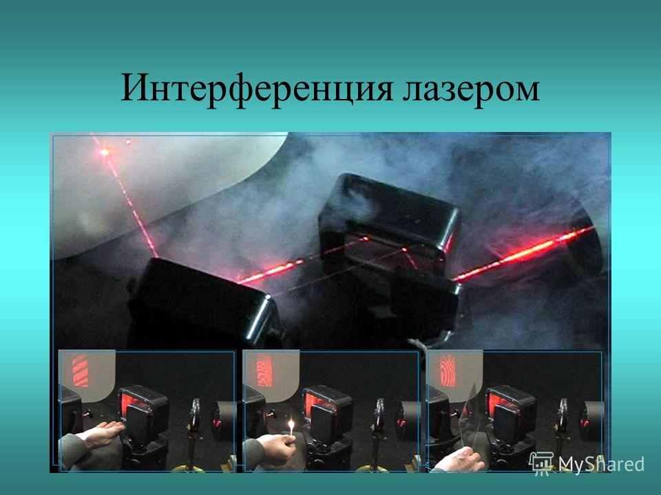 Интерференция лазером