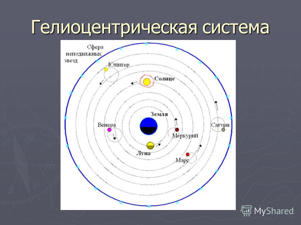 Гелиоцентрическая система