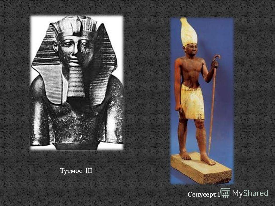 Тутмос III Сенусерт I