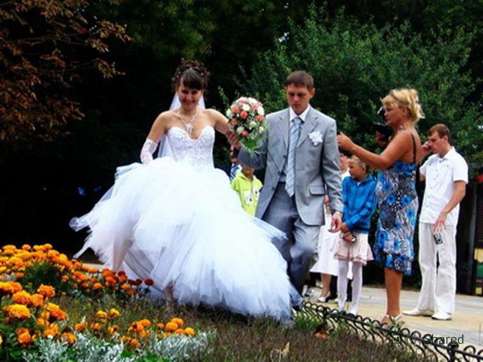 Осень, время свадеб на Руси...