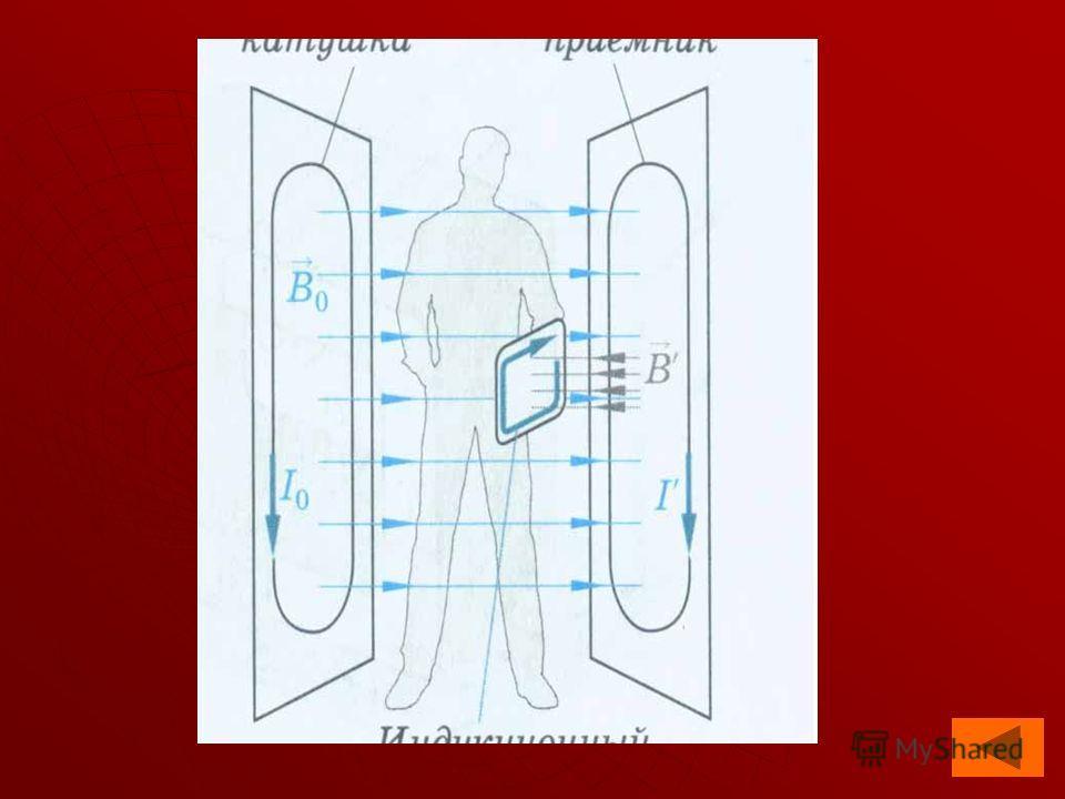 Электромагнитная индукция широко применяется в современной технике. Одним из примеров могут служить специальные детекторы, используемые для обнаружения металлических предметов. Например, в аэропортах детектор металла фиксирует поля индукционных токов