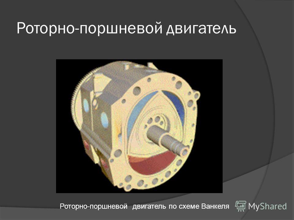 Роторно-поршневой двигатель Роторно-поршневой двигатель по схеме Ванкеля