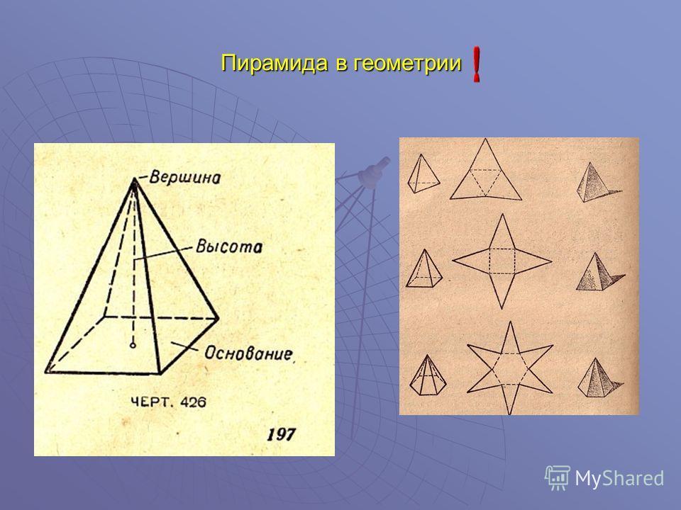 Пирамида в геометрии