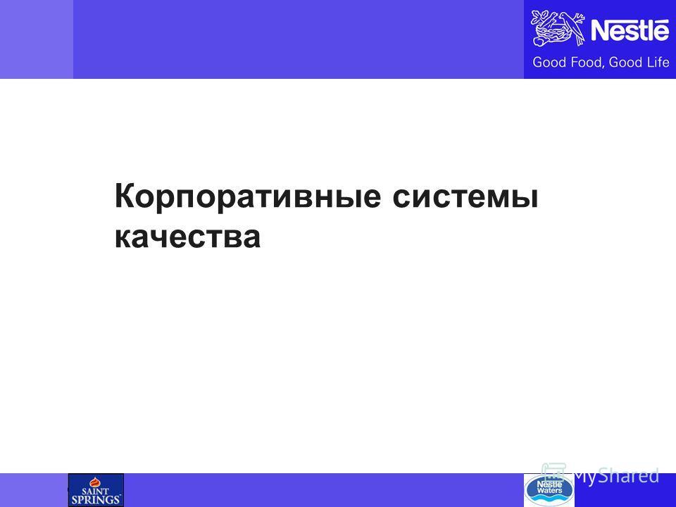 Name of chairman Корпоративные системы качества