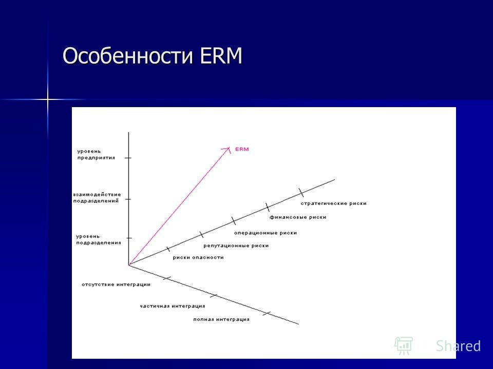 Особенности ERM