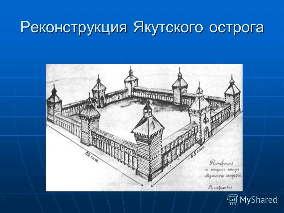 Реконструкция Якутского острога