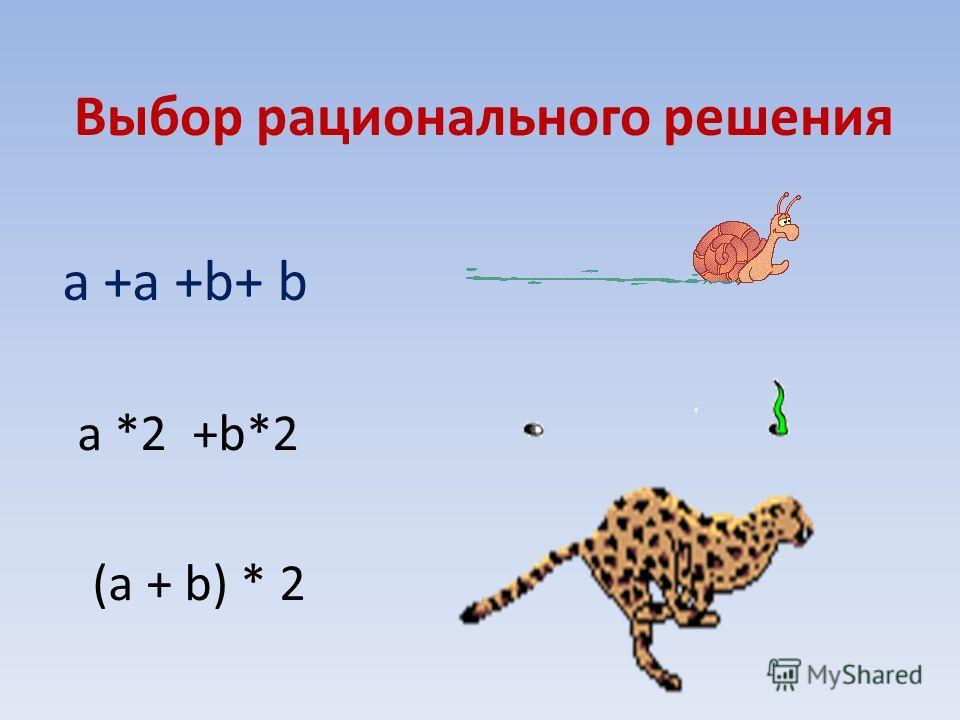 4 6 6 4 (4+6)*2 (a + b)*2