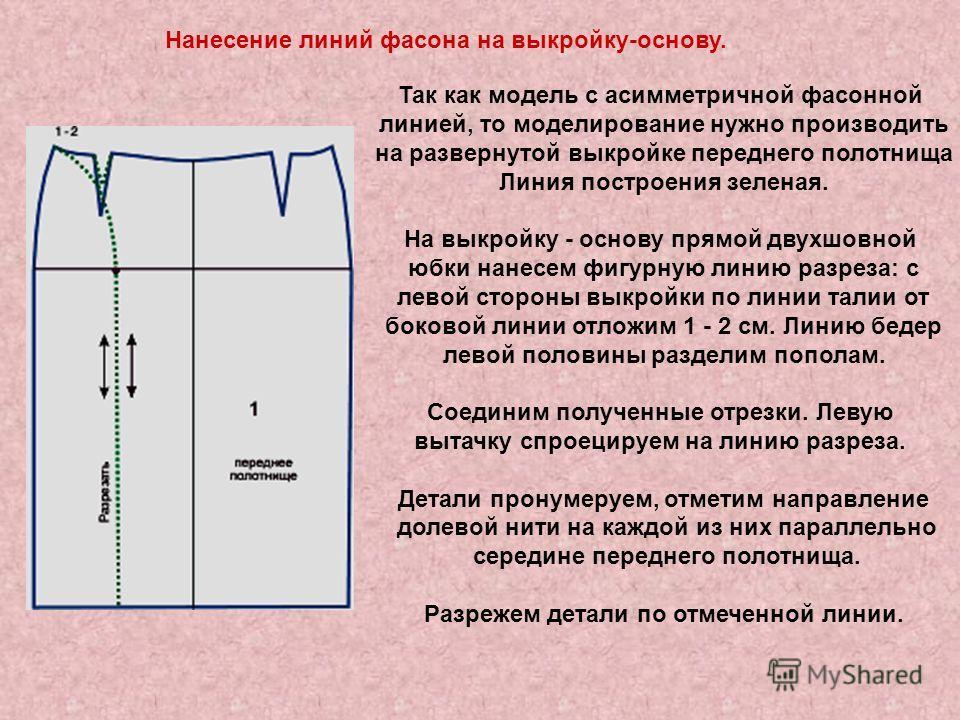 Моделирование Основы Юбки