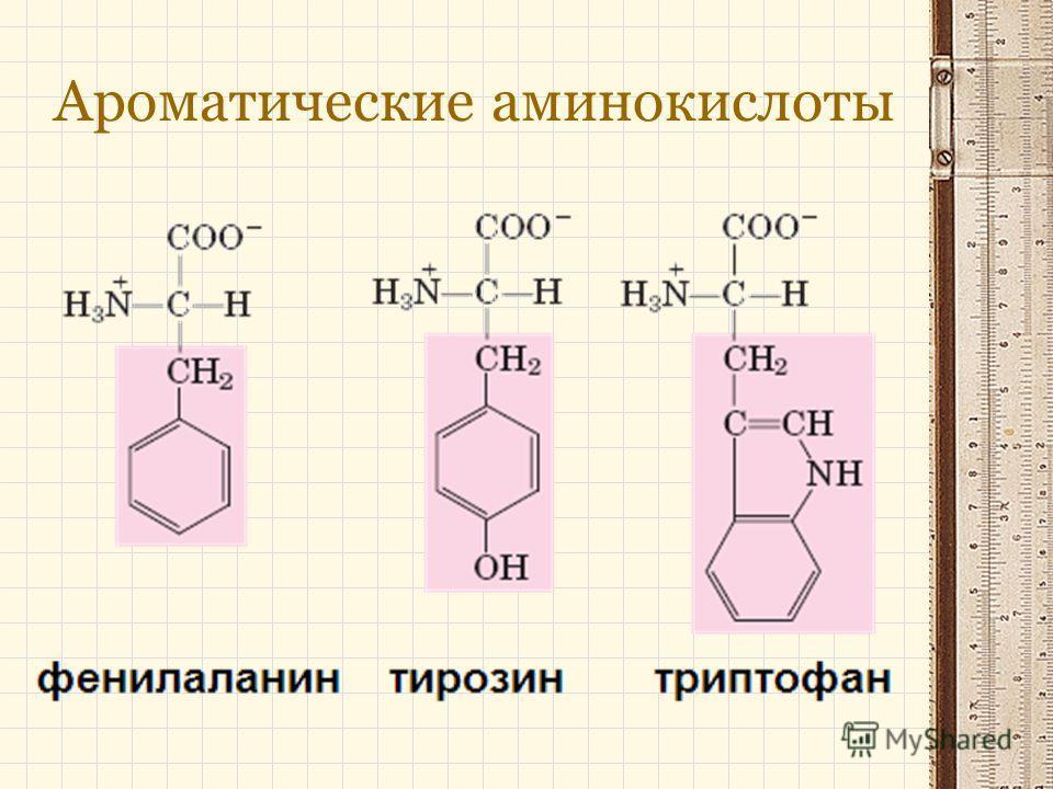 Ароматические аминокислоты