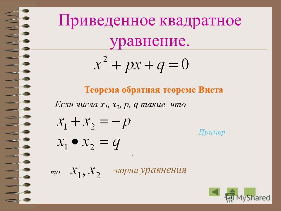 Неполные квадратные уравнения. Решение: Нет корней или Решение: ПримерПример 1 Пример 2 Пример 3