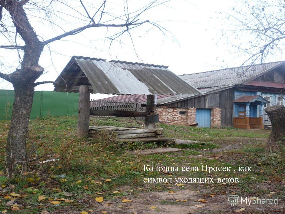 Колодцы села Просек, как символ уходящих веков