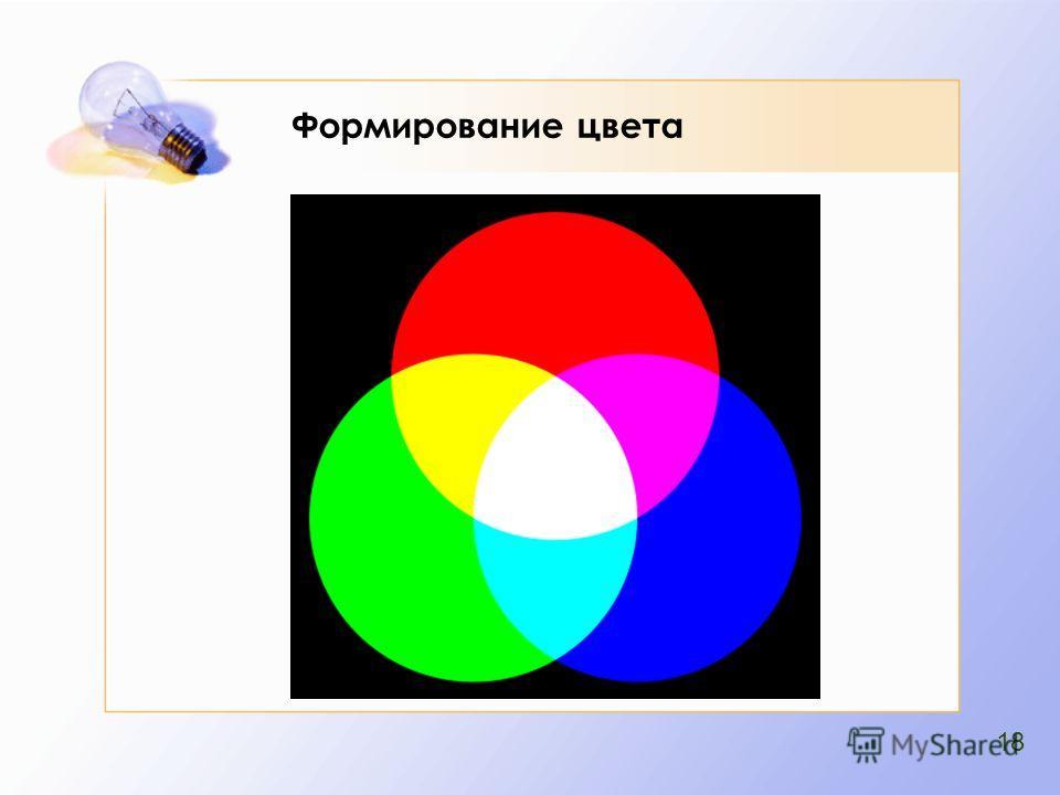 Формирование цвета 18