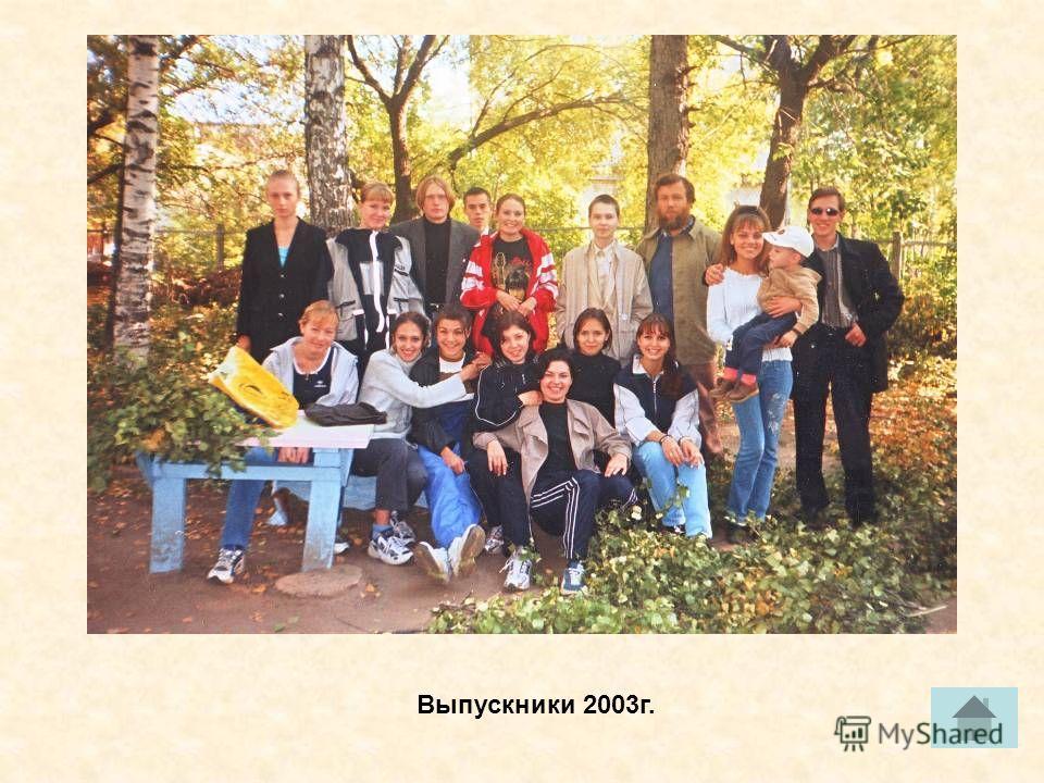 Выпускники 2003г.