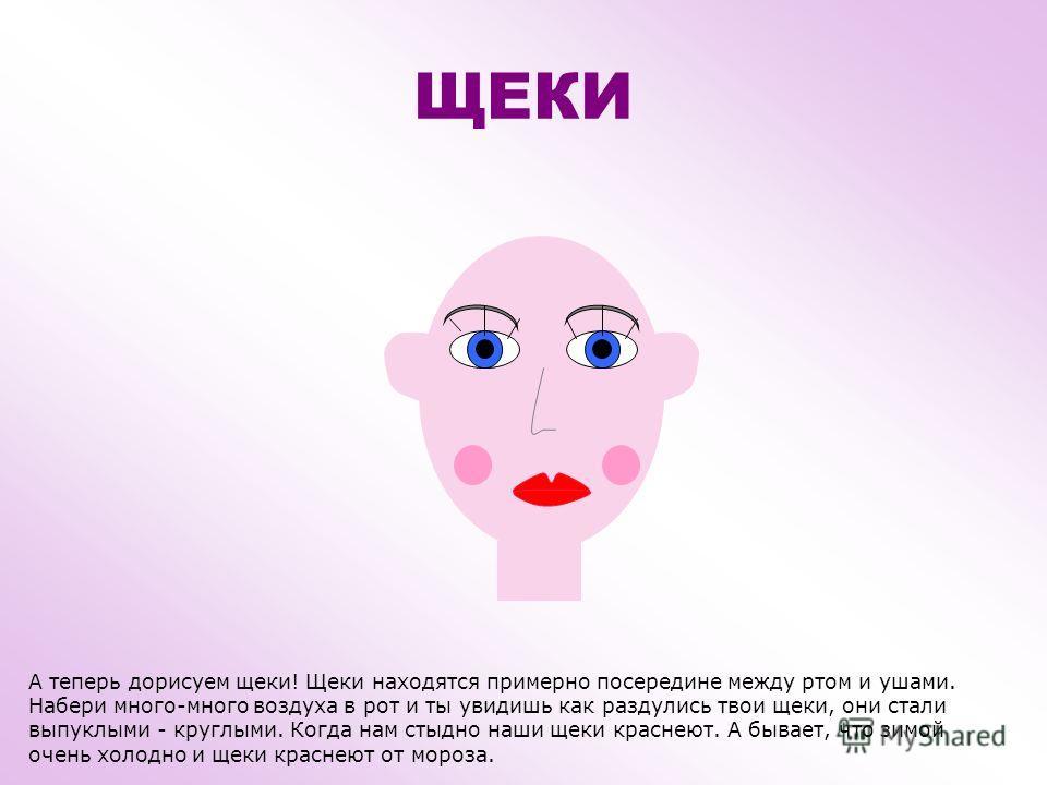 ГУБЫ Когда наш рот закрыт – видны только губы. Женщины красят губы помадой – для красоты. Можно вытянуть губы вперед и подуть, а можно посвистеть. Когда у нас хорошее настроение мы радуемся и улыбаемся – губы растягиваются. Улыбнись, малыш! )))