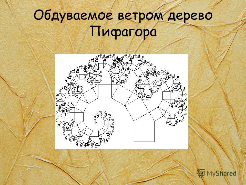 Обдуваемое ветром дерево Пифагора